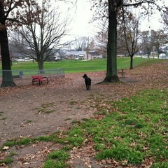 Photo taken at Medina Dog Park by Jennifer on 11/10/2012