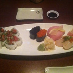 Photo taken at Hana Japanese Eatery by Patricia S. on 12/7/2012