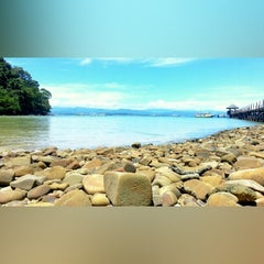 Photo taken at Padang Point by Sherrie P. on 5/28/2014