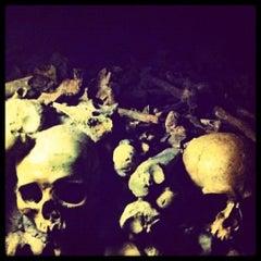 Photo taken at Catacombes de Paris by Death ☠. on 11/4/2012