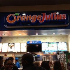 Photo taken at Orange Julius by Bronwynn C. on 11/23/2012