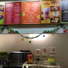 Photo taken at Jamba Juice by David T. on 11/24/2012
