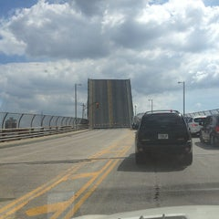 Photo taken at John Byrne-Greenpoint Avenue Bridge by Melissa M. on 7/27/2013