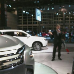 Photo taken at Chicago Auto Show by Jude I. on 2/22/2015