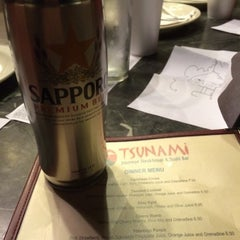 Photo taken at Tsunami Japanese Steakhouse and Sushi Bar by Justin W. on 11/2/2014