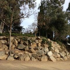 Photo taken at Parc de Sant Jordi by Núria S. on 1/29/2013