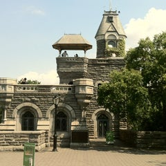 Photo taken at Belvedere Castle by Robert R. on 8/12/2013