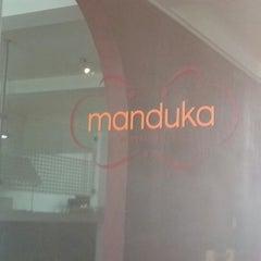 Photo taken at Manduka by Fernando M. on 10/30/2012