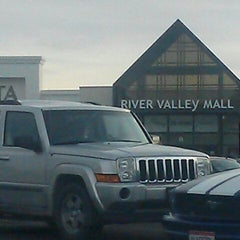 Photo taken at River Valley Mall by Justin T. on 12/6/2012