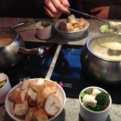Photo taken at The Melting Pot by Karen H. on 3/12/2013