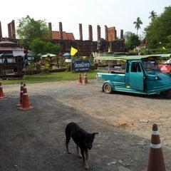 Photo taken at วัดธรรมิกราช (Wat Thammikarat) by Kang AllNew T. on 11/24/2012