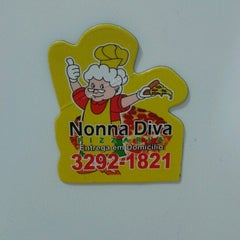 Photo taken at Nonna Diva Pizzaria by Fábio N. on 2/3/2013