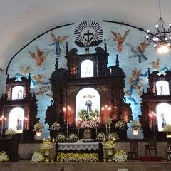 Photo taken at Santuario de San Pedro Bautista Parish by Guen M. on 11/23/2014