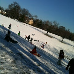 Photo taken at Forest Hill Park by Mary D. on 1/18/2013