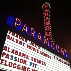 Photo taken at Paramount Theatre by Kari S. on 3/4/2013