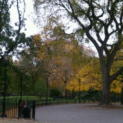 Photo taken at Tompkins Square Park by Ryan L. on 10/28/2012