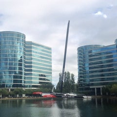 Photo taken at Oracle Plaza by David S. on 7/22/2014