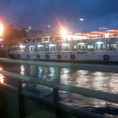 Photo taken at Kadıköy - Karaköy Motoru by busra i. on 11/17/2012