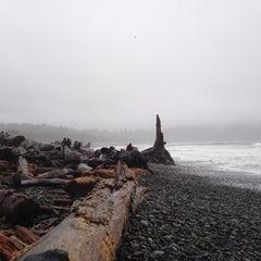 Photo taken at La Push by Dima T. on 11/25/2014