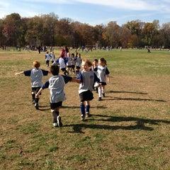 Photo taken at Stoddert Soccer @ Carter Baron Fields by Shari G. on 11/10/2012