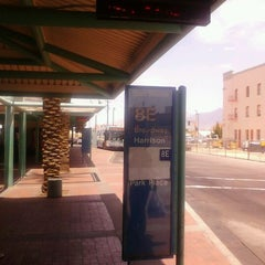 Photo taken at Sun Tran Ronstadt Transit Center by Gregg Z. on 5/8/2012