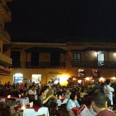 Photo taken at Plaza Santo Domingo by LuisFer on 7/28/2012