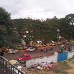 Photo taken at Gandhi Bazaar by Abhishek R. on 8/15/2012