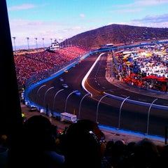 Photo taken at Phoenix International Raceway by Craig D. on 11/13/2011
