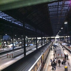 Photo taken at Basel SBB Railway Station (ZDH) by Rebeca B. on 10/30/2011