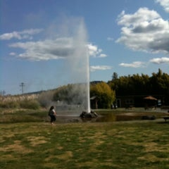 Photo taken at Old Faithful Geyser of California by Wenter S. on 4/6/2012