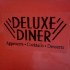 Photo taken at Deluxe Diner by Christopher M. on 9/25/2011