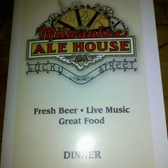 Photo taken at Milwaukee Ale House by Amy B. on 12/28/2011