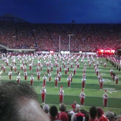 Photo taken at Memorial Stadium by Erik O. on 10/9/2011