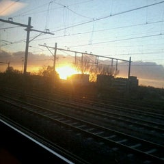 Photo taken at Station Nijmegen Lent by Marije A. on 11/27/2011