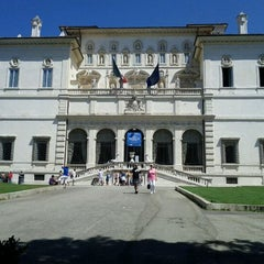 Photo taken at Galleria Borghese by Francesco C. on 8/19/2011