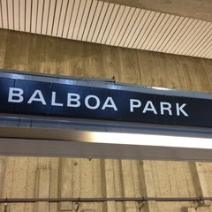 Photo taken at Balboa Park BART Station by Caio J. on 1/14/2012