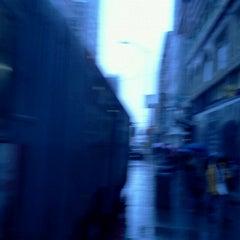 Photo taken at MUNI Bus Stop - 4th & Market by Jose C. on 3/15/2012