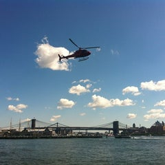 Photo taken at NY Waterway Ferry Terminal Wall Street / Pier 11 by Evgenia on 9/10/2012