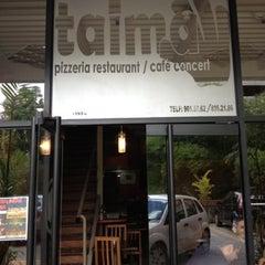Photo taken at Taima Pizzeria by Diego José T. on 8/10/2012