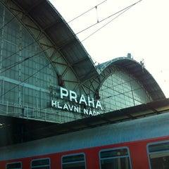 Photo taken at Praha hlavní nádraží | Prague Main Railway Station by Simonna M. on 8/17/2012