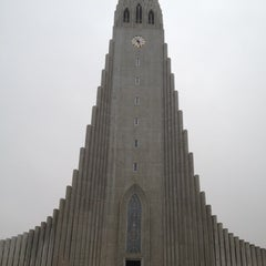 Photo taken at Church of Hallgrímur by Michele H. on 2/26/2012