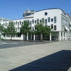 Photo taken at Deutsche Telekom Campus by Ugurcan on 9/2/2011