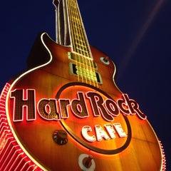 Photo taken at Hard Rock Cafe Las Vegas at Hard Rock Hotel by Jordan M. on 4/13/2012