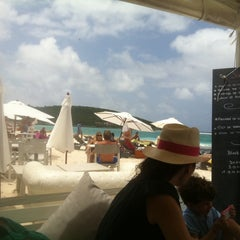 Photo taken at La Plage by Guillaume M. on 8/6/2011