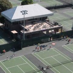 Photo taken at Hoke Sloan Tennis Center by Brad L. on 1/21/2012