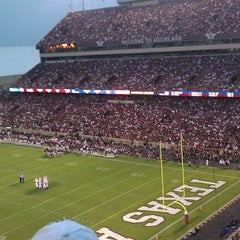 Photo taken at Kyle Field by Keith N. on 9/5/2011