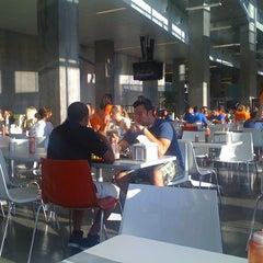Photo taken at Ernie Davis Dining Center by Ryan G. on 8/26/2011
