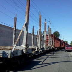 Photo taken at Front street railroad tracks by Steve B. on 8/20/2011