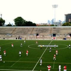 Photo taken at Lamport Stadium by MlleTravelista on 6/17/2012