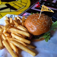 Photo taken at BGR - The Burger Joint by Nicholas T. on 8/14/2012